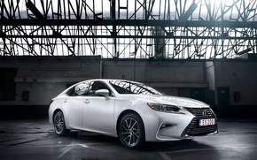 Wallpaper car, white, Lexus, white, car, sedan, Lexus, ES 200