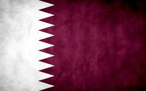 Picture flag, flag, Qatar, Qatar