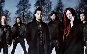 Picture music, background, Wallpaper, Symphonic metal, Amberian dawn, Heidi Parviainen, power metal