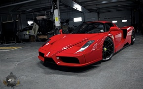 Picture Ferrari, wheels, Enzo, adv1