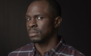 Picture photo, shirt, actor, celebrity, 2015, Nigeria, Gbenga Akinnagbe