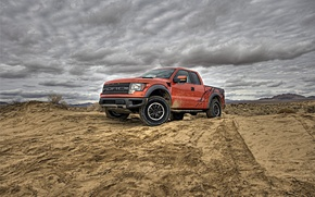 Wallpaper auto wallpspers, dirt, Ford, road, machine, ford f150 svt raptor