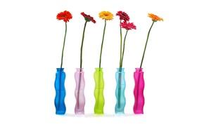 Picture Wallpaper, petals, stem, vase, still life, gerbera