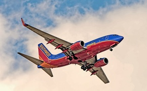 Picture aviation, Boeing, the plane, 737