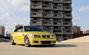 Picture BMW, E46, YELLOW