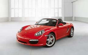 Wallpaper red, porshe, boxster