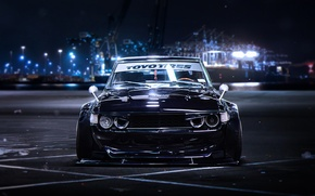 Picture BMW, Front, Black, Tuning, Future, E30, by Khyzyl Saleem