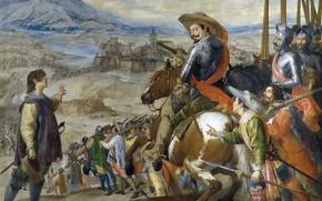 Picture picture, The Siege Of Brisach, Husepe Leonardo