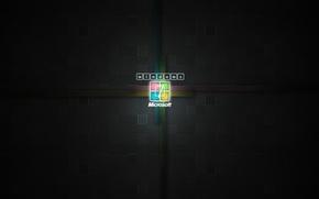 Wallpaper new, Windows7, logo