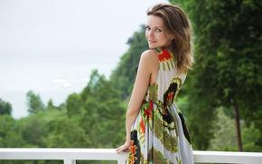 Picture look, model, dress, Niki Mey