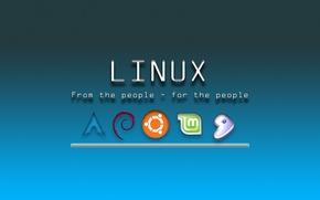 Picture Linux, laptop, system