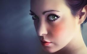 Picture Girl, Portrait, Fairy, Fantasy, Elf