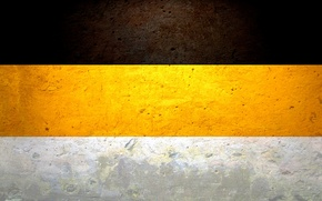 Picture flag, the Russian Empire, wall