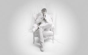 Picture in white, on white, ASOT, Armin van Buuren