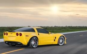 Picture auto, Chevrolet, corvette