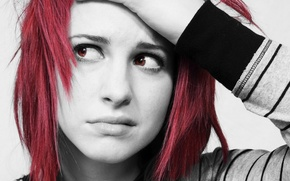 Wallpaper girl, singer, paramore, hayley williams