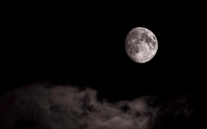 Picture the sky, space, the moon