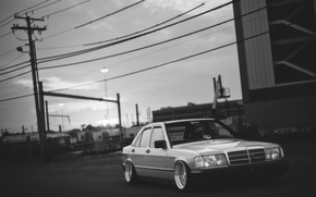 Picture Mercedes, mercedes benz, low, stance, 190, dropped