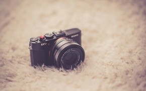 Picture the camera, bokeh, SONY