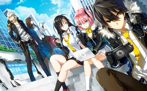 Picture the city, girls, the game, art, guys, closers