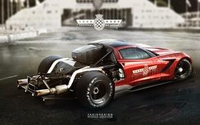 Picture corvette, yasiddesign, hillclimb
