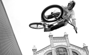 Picture BMX, art, jumping, talent, dexterity