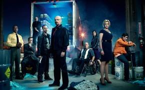 Picture the series, heroes, breaking bad, brba, breaking bad, Season 4, promo