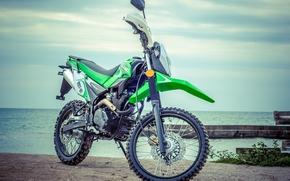 Picture sea, pierce, motocross, Shineray