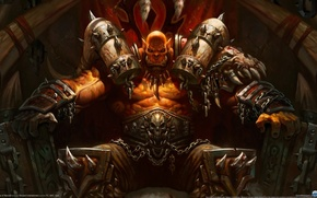 Picture the game, art, Hearthstone, Heroes of Warcraft
