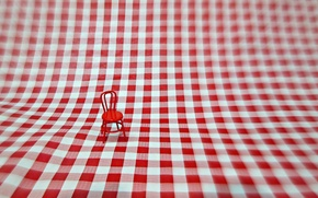 Picture red, small, chair