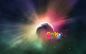 Picture glow, Planet, Salvation