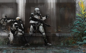 Picture Soldiers, Weapons, Art, Future, Sweep