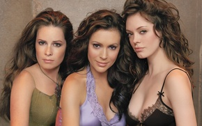 Picture girls, the series, Holly Marie Combs, Alyssa Milano, Charmed, Rose McGowan