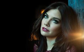Picture eyes, girl, face, sexy, background, actress, lips, sexy, beauty, Lauren Cohan, Lauren Cohan