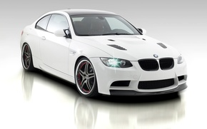 Wallpaper background, BMW, white