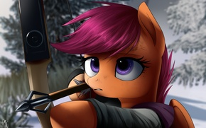 Picture the last of us, elly, scootaloo .pony