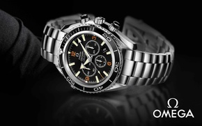 Picture watch, omega, chronometer, seamaster co-axial