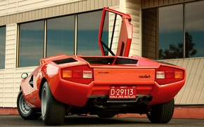 Picture Lamborghini, countach, lp400, 1974
