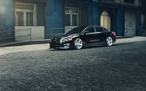 Picture black, Nissan, black, Nissan, Altima