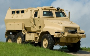Picture grass, combat, Caiman, BAE Systems, armored vehicle