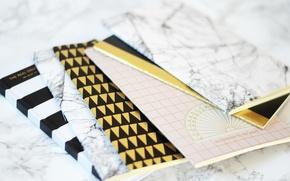 Wallpaper note books, colors, design