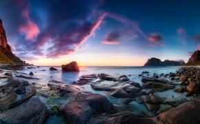 Picture rocks, Norway, Utakleiv
