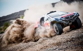Picture Dust, Peugeot, Dakar, 2016, DKR, Baggy