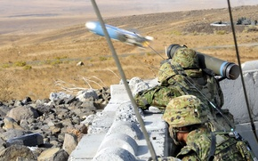 Picture Japan Ground Self-Defense Force, javelin, anti-tank missile