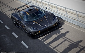 Picture black, carbon, koenigsegg, 2015, gipercar, one1