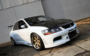 Wallpaper mitsubishi, lancer, evolution