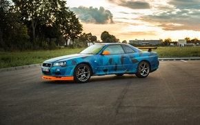 Picture Nissan, Skyline, Tuning, Nismo, GT-R34
