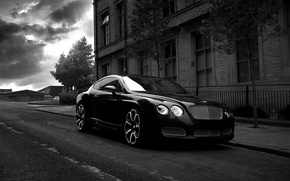 Picture Bentley, Project Kahn, Black, GTS Black Edition, Gray & White