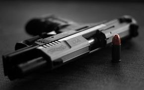 Picture gun, cartridge, p22, walther