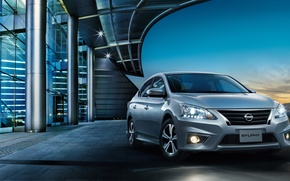 Picture Nissan, Nissan, 2015, Sentra, Sylphy, selfi, Sentra